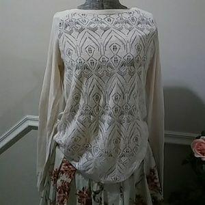LC Lauren Conrad Pink Sweater